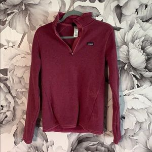 Size small pink Patagonia pullover